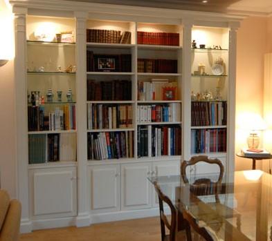Foto Di Librerie In Legno.Librerie Bianche Roma Librerie Su Misura